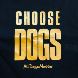 Choose Dogs tote bag