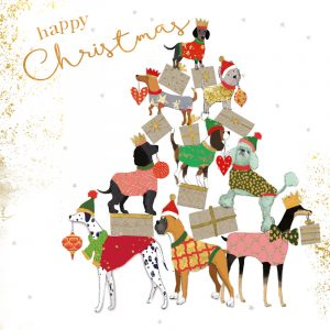 Christmas Cards – Dog Bearing Gifts