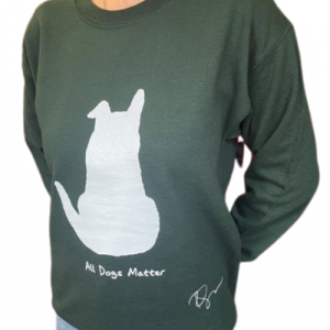 Limited Edition: Ricky Gervais Designed Green Sweatshirt