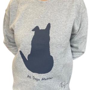 Limited Edition: Ricky Gervais Designed Grey Sweatshirt