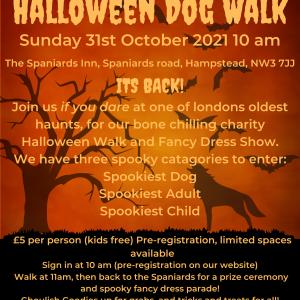Halloween Dog Walk and Parade Tickets