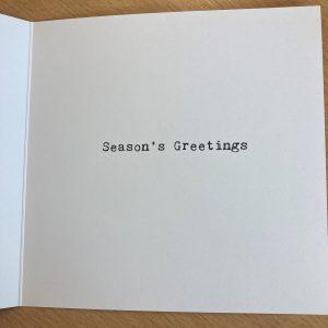 Christmas Cards – Vegan Turkey